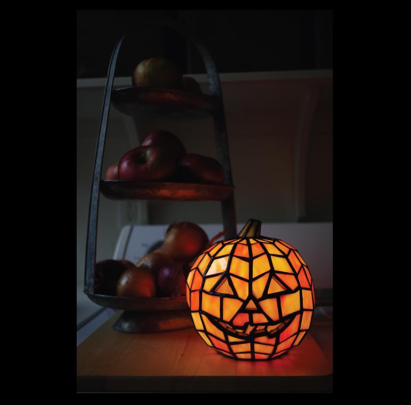 Glowing-Jack-O-Lantern-in-the-Pantry