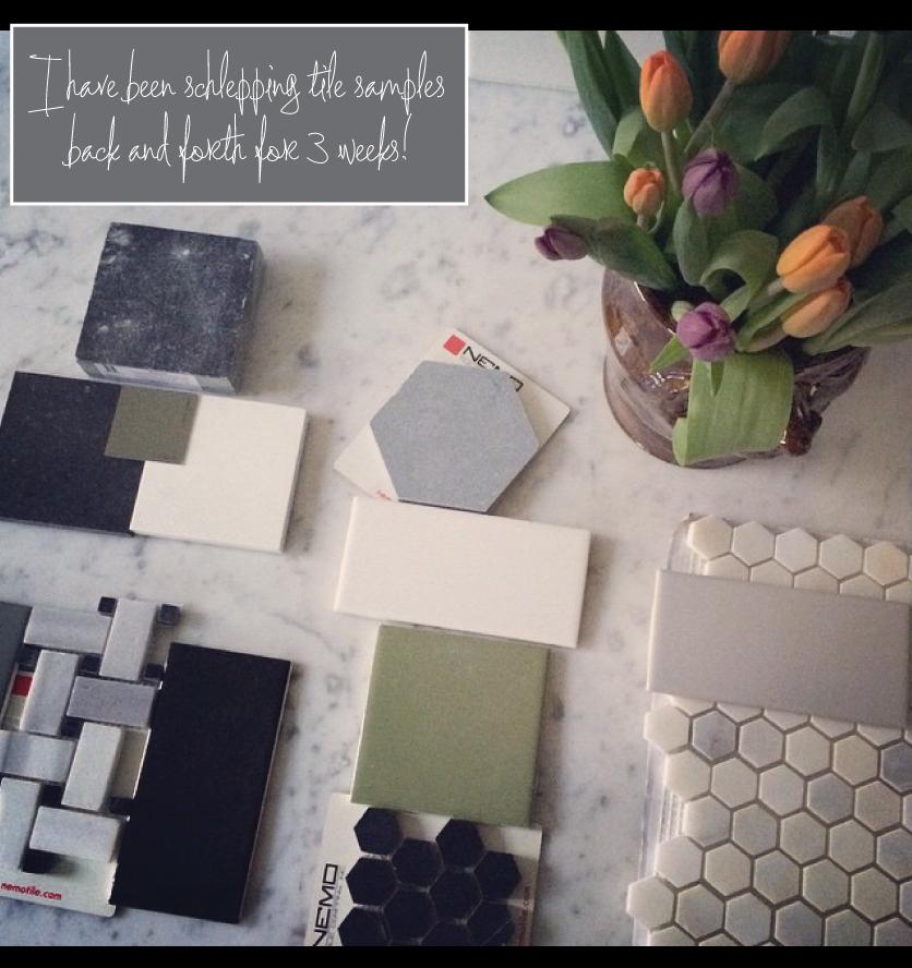 Tile-samples