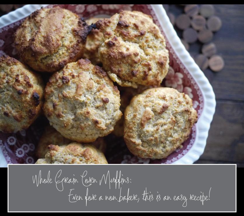 Easy-Whole-Grain-Corn-Muffin-Recipe